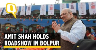 #AmitShah on Day 2 of WB Visit: 'Never Seen a Roadshow Like This'
