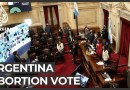 Argentina Senate set to vote on historic bill legalising abortion