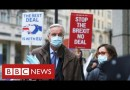 Brexit trade talks paused – with less than a month to final deadline – BBC News
