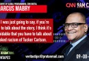 #CNNTapes: Vice President of Global Programming Marcus Mabry SLAMS Fox News as Racist And Uninformed