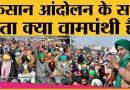 Farmers Protest में कितने Farmer Leaders हैं Left के समर्थक? ।Punjab । Haryana