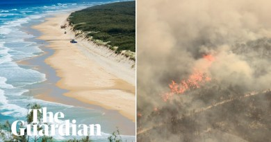 Fraser Island fire: massive blaze on World Heritage-listed site burns for six weeks