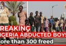 Freed schoolboys arrive in Nigeria's Katsina week after abduction