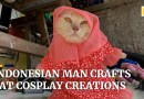 From hijabs to superhero outfits, former teacher in Indonesia creates cat cosplay costumes