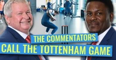 Ian Smith and Pommie Mbangwa assess Tottenham Hotspur's cricket skills