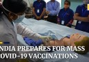 India trains workers to handle Covid-19 mass vaccination programme