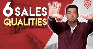 Six Qualities of Great Sales People