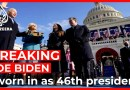Biden, Harris leave US Capitol after inauguration