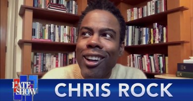"""Chris Rock Was In The House For David Letterman's Final """"Late Show"""" Taping"""