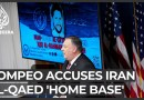Pompeo says al-Qaeda's 'new home base' is Iran, with no evidence