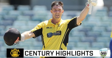 Marsh overtakes Langer with 10th one-day ton | Marsh One-Day Cup 2021