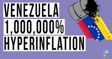 Venezuela HYPERINFLATION a Lesson We Should Learn From? U.S. Inflation Cause For Panic?