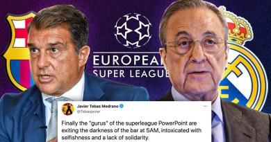 Barcelona and Real Madrid To BETRAY La Liga To SAVE Themselves?! | ERU