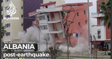 Albanians criticise rebuilding efforts after 2019 earthquake