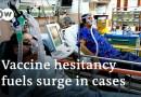 COVID-19 deaths surge in Romania, Ukraine | DW News