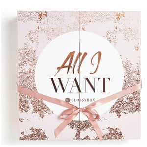 Glossybox's 'All I Want' calendar 2018.