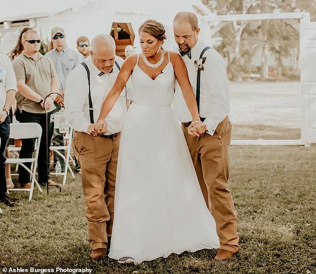 Paraplegic Bride Walks Down The Aisle Three Years After A