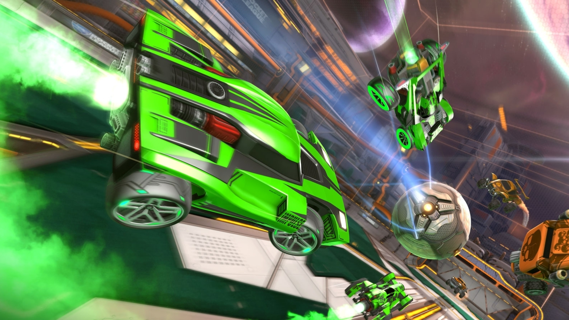 Rocket League Finally Gets Xbox One X Enhanced Support In December