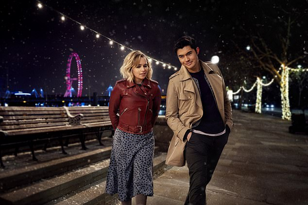 Emilia Clarke and Henry Golding in romantic comedy Last Christmas. Producer David Livingstone had the idea of creating a story inspired by the George Michael track