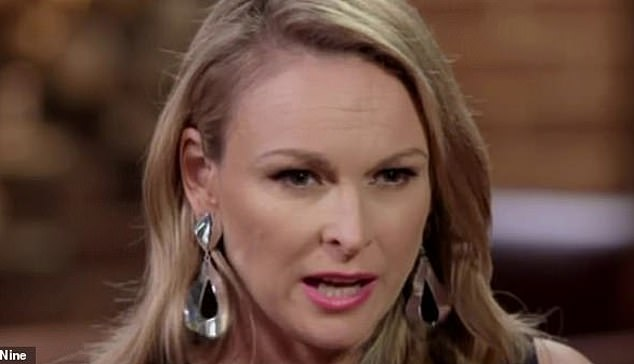 'Hypocrisy': Mel (pictured) had lectured Bronson Norrish over his use of the C-word on Sunday's episode but failed to address Ines Basic's 'abusive' behaviour, sparking a viewer backlash