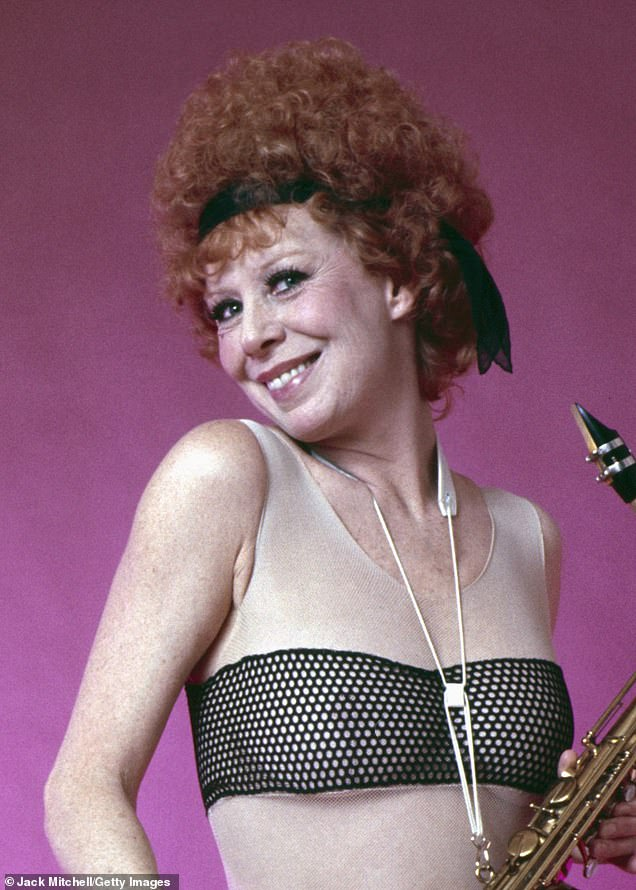 The late, great Broadway dancer Gwen Verdon pictured in 1975)