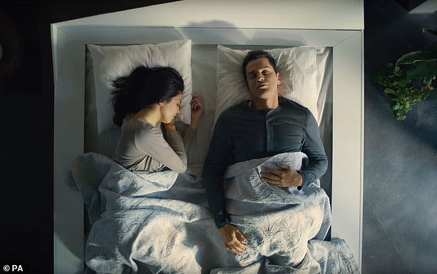 Ford's prototype bed rolls selfish sleepers back to their side of the bed whenever they stray onto the other half. The new invention means you won't be woken by space-hoggers mid-sleep