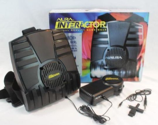 Aura Interactor - not quite as good as advertised