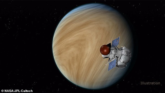 Venus (artist's impression, pictured) changed rapidly after spinning rapidly and having oceans of liquid water and is currently one of the hottest in the solar system, with temperatures topping 450°C (840°F)