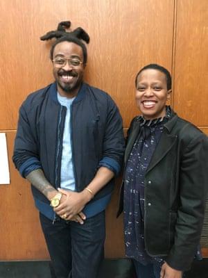 Olalekan Jeyifous and Amanda Williams.