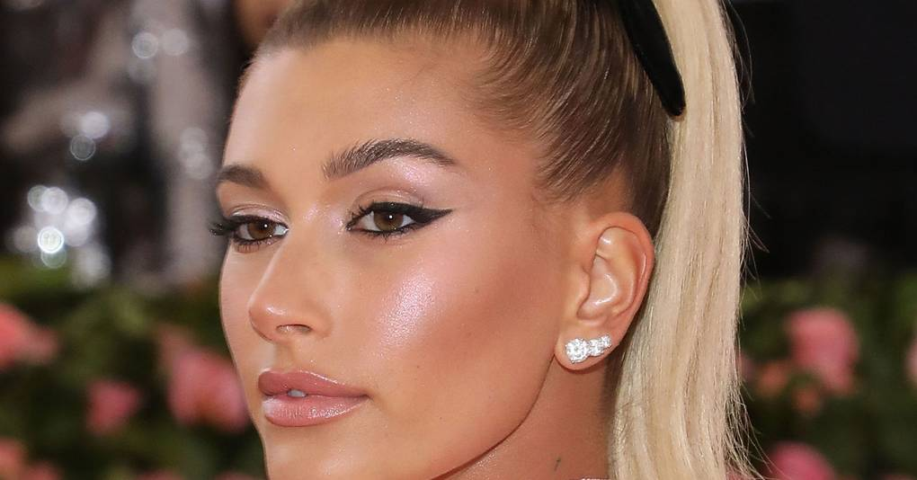 3f1a50dd2296 The Reason Why Hailey Bieber Was Actually Glowing On The Met Gala Pink  Carpet - NEWSCABAL