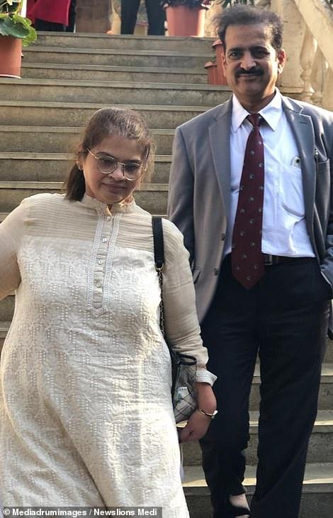 Amita Rajani and Dr Shah