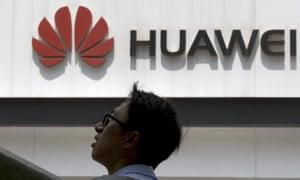 A Huawei store in Beijing, China.
