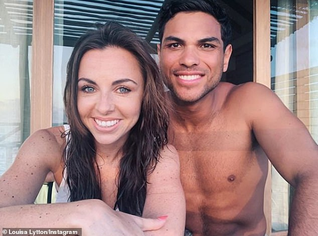 Happy news: EastEnders star Louisa Lytton is engaged to Ben Bhanvra after he proposal in The Maldives... (despite it all going a little pear-shaped)