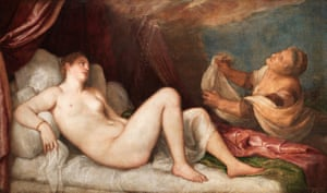 Danaë, one of the paintings that will be featured.