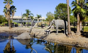 La Brea Tar Pits in Los Angeles.