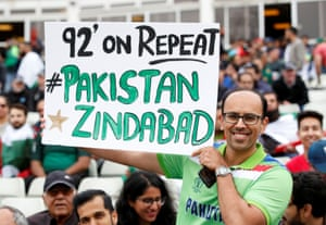 Hopeful Pakistan fan.