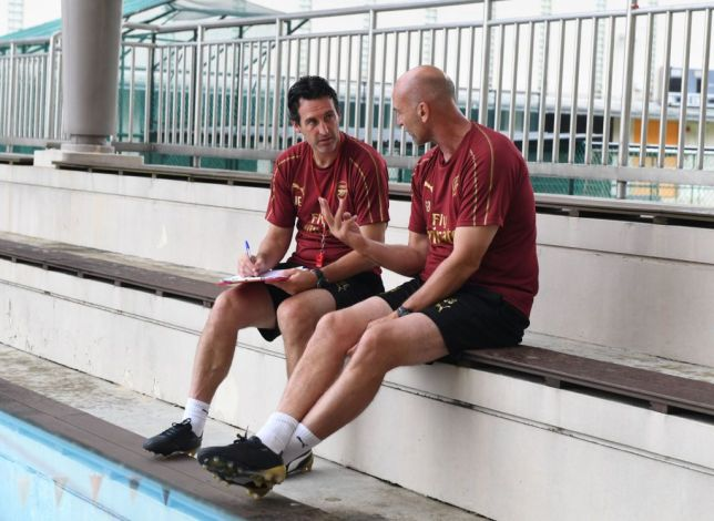 Arsenal confirm backroom shake-up as Unai Emery axes Steve Bould for Invincibles legend
