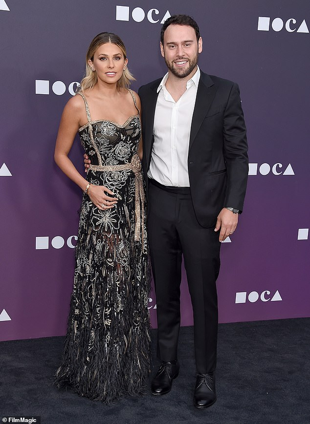 Braun's wife Yael also took to social media Sunday and challenged Swift's account of events. Defending her husband, Yael claimed that the superstar had had the chance to purchase her own masters but had 'passed' on the opportunity