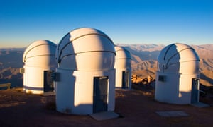 Cerro Tololo Inter-American observatory, Chile.