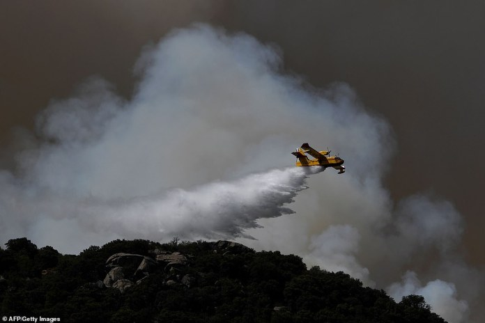 Spain was hit by more wildfires as temperatures remained sky-high in the Europe-wide heatwave, authorities said, just as firefighters finally managed to contain another blaze they had been tackling for nearly 72 hours