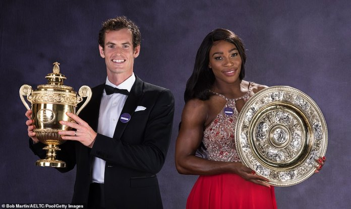 Icons: Day five of the Grand Slam will see comeback king Andy Murray begin his dream doubles' pairing with tennis icon Serena Williams