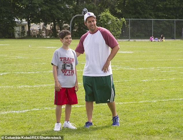 Boyce starred as the son of Adam Sandler's characterLenny Feder. The film became Sandler's highest-grossing movie