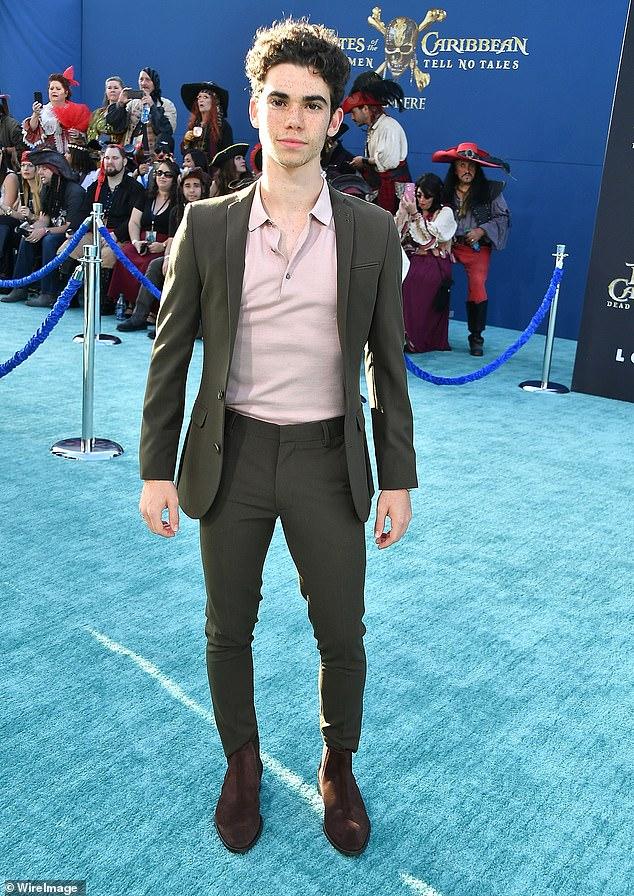 Star break: Boyce (above 2017) rose to fame as the character Luke on Disney Channel hit Jessie