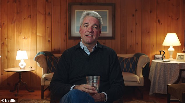 Industry veteran: Though he's best known to the wider public for his failed attempts to save Billy McFarland's fraudulent festival, King was previously known as a respected event planner; Still from Netflix's Fyre