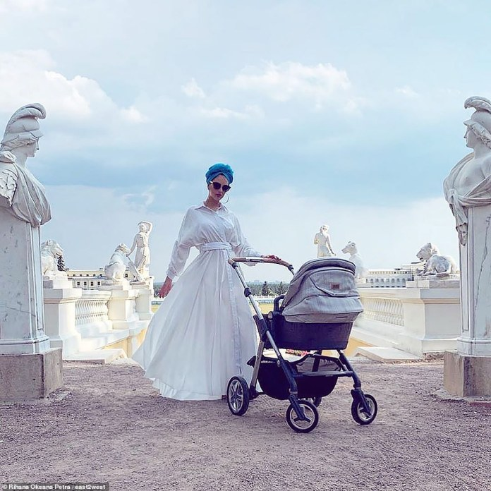Oksana's Instagram displays her life of luxury in Kuala Lumpur and her collection of diamond rings and tiaras
