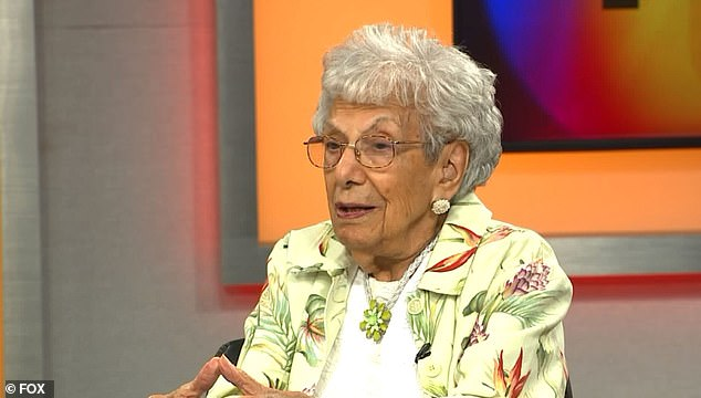 Leitner's parents, uncles and sister all lived well into their 90s. Pictured: Leitner courtesy of FOX 2 News