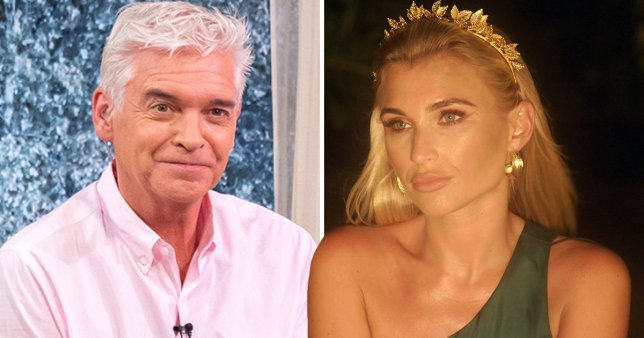 Billie Faiers and Phillip Schofield
