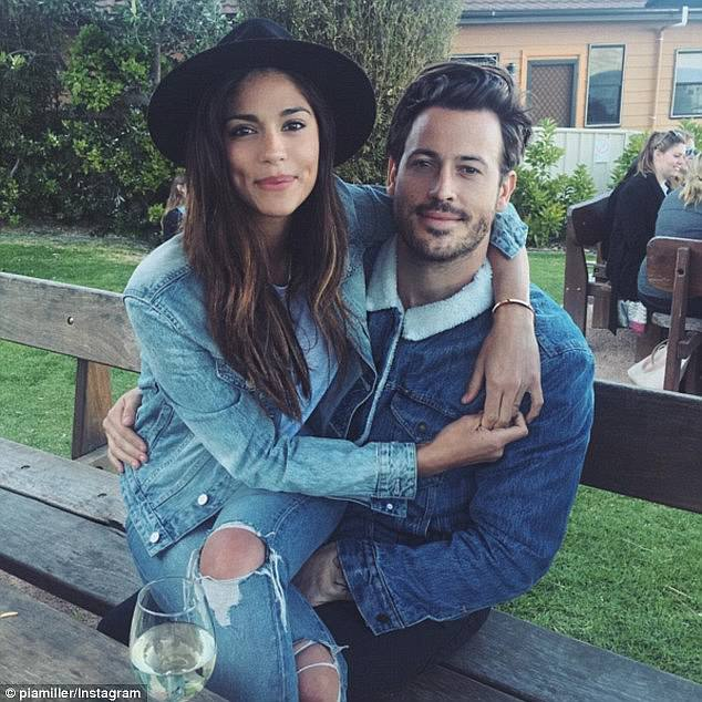 Exes: Her most recent confirmed relationship was with filmmaker Tyson Mullane (right), but they broke off their engagement earlier this year