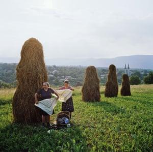 Haymaking by Rena Effendi