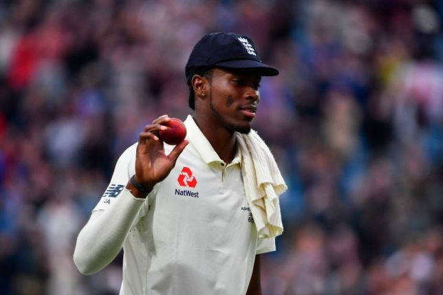 Jofra Archer claimed his maiden five-wicket Test haul in the Ashes